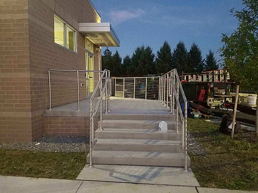 Diamond Credit Union, Royersford PA railings