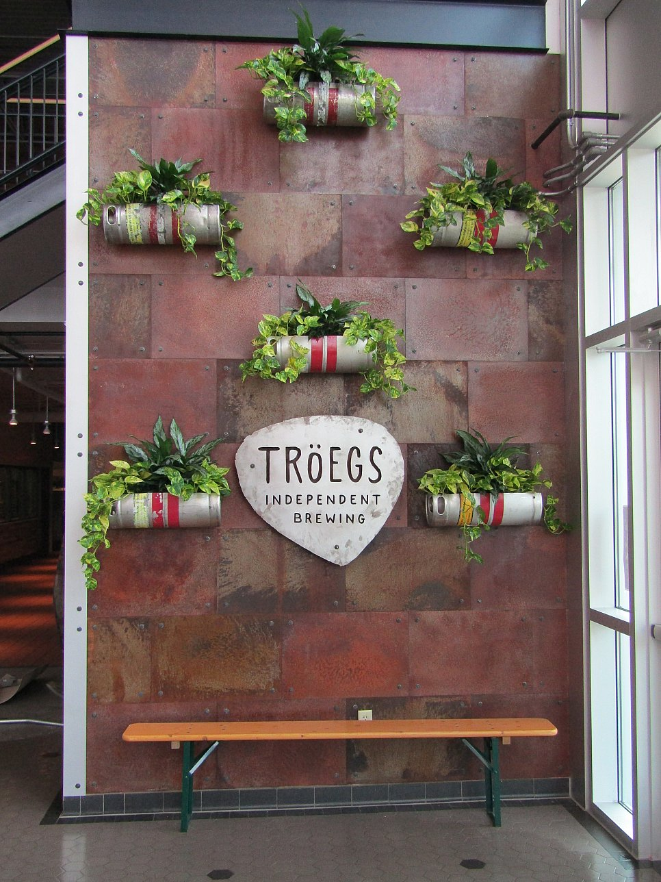 Troegs Brewery decorative wall 1